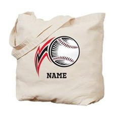 Personalized Baseball Pitch Tote Bag