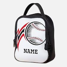Personalized Baseball Pitch Neoprene Lunch Bag