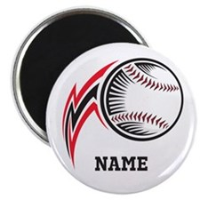 Personalized Baseball Pitch Magnet