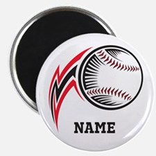 "Personalized Baseball Pitch 2.25"" Magnet (10 pack)"