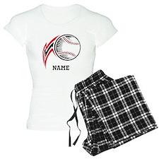 Personalized Baseball Pitch Pajamas