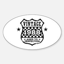 Vintage 1988 Decal