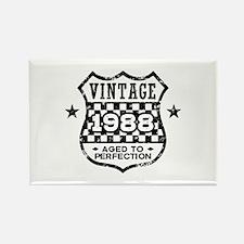 Vintage 1988 Rectangle Magnet