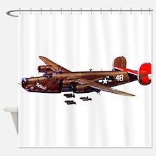 B-24H Liberator 2 Shower Curtain