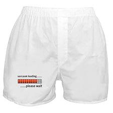 Sarcasm Loading Boxer Shorts