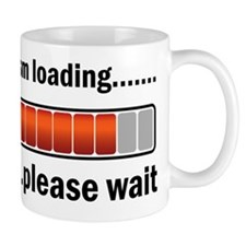Sarcasm Loading Small Mug