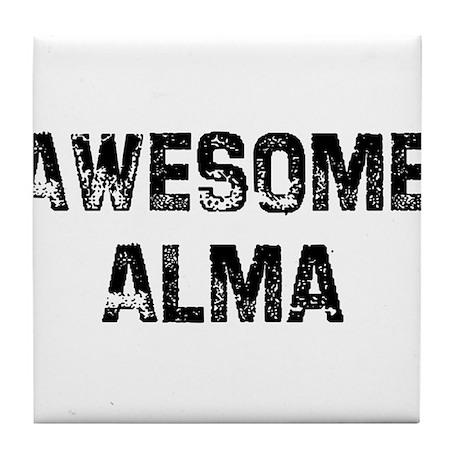 Awesome Alma Tile Coaster
