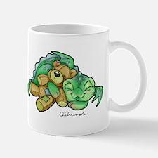 Sleepy Teddy Bear Dragon Mug