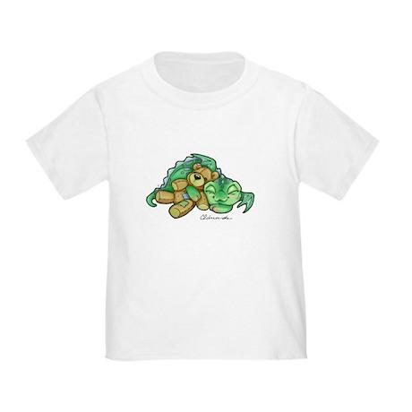 Sleepy Teddy Bear Dragon T-Shirt