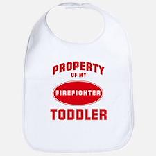 TODDLER Firefighter-Property Bib