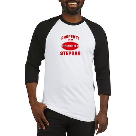STEPDAD Firefighter-Property Baseball Jersey