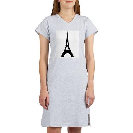 Eiffel Tower Women's Nightshirt