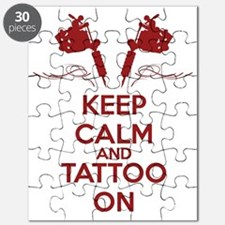 Keep calm and tattoo on Puzzle