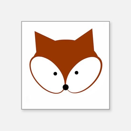 Curious Fox Sticker
