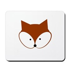 Curious Fox Mousepad