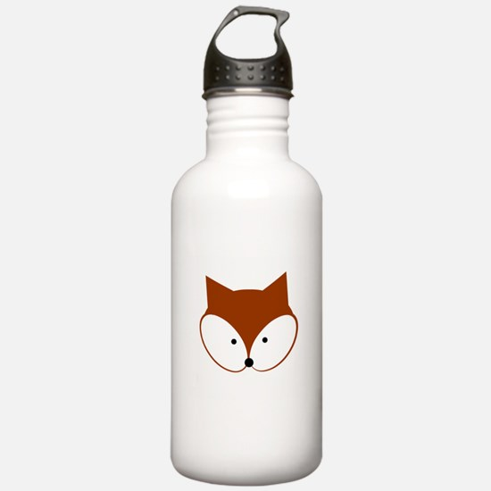Curious Fox Water Bottle