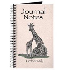 Giraffe Family Journal Notes