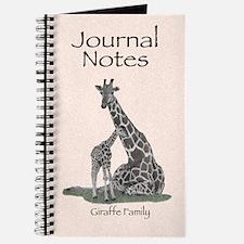 Giraffe Family Journal Notes