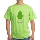 Cactus hugz Green T-Shirt