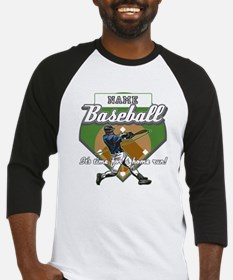 Personalized Home Run Time Baseball Jersey