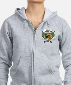 Personalized Home Run Time Zip Hoodie