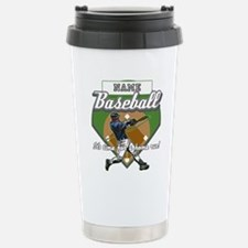 Personalized Home Run Time Stainless Steel Travel