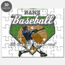 Personalized Home Run Time Puzzle