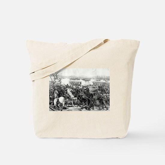 Battle of Pittsburgh, Tenn - 1862 Tote Bag