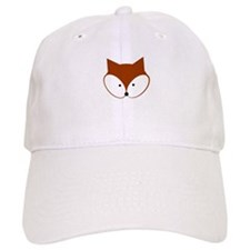 Curious Fox Baseball Baseball Cap