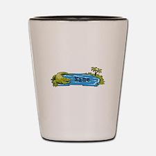 Personalized Alligator Shot Glass