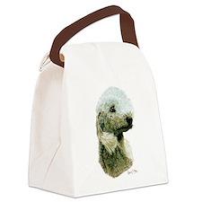 Bedlington Terrier Canvas Lunch Bag