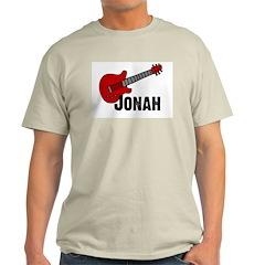 Jonah = Guitar Ash Grey T-Shirt
