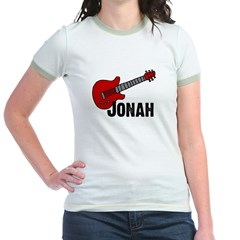 Jonah = Guitar Jr. Ringer T-Shirt