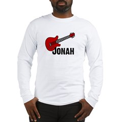 Jonah = Guitar Long Sleeve T-Shirt
