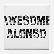 Awesome Alonso Tile Coaster