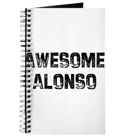 Awesome Alonso Journal