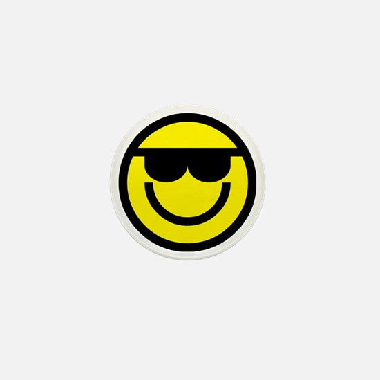 cool dude emoticon Mini Button