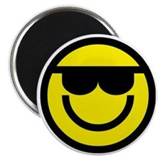 cool dude emoticon Magnet