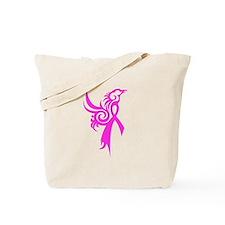 Phoenix in Pink Tote Bag