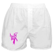 Phoenix in Pink Boxer Shorts
