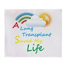 A Lung Transplant Saved my Life Rainbow Cloud Thro