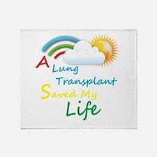 A Lung Transplant Saved my Life Rainbow Cloud Thro