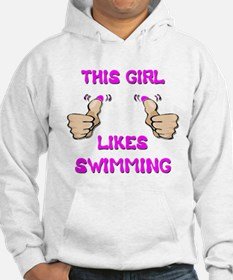 This Girl Likes Swimming Hoodie