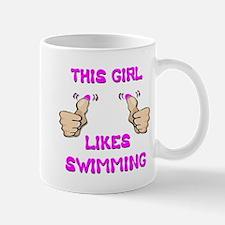 This Girl Likes Swimming Mug