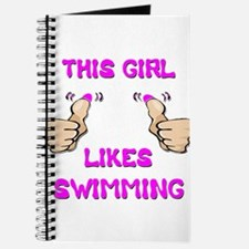 This Girl Likes Swimming Journal