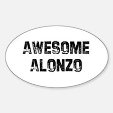 Awesome Alonzo Oval Decal