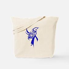 Phoenix in Blue Tote Bag