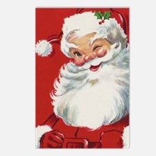 Vintage Christmas, Jolly Postcards (Package of 8)