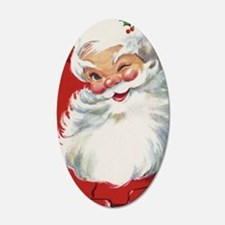 Vintage Christmas, Jolly San Wall Decal