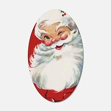 Vintage Christmas, Jolly San Wall Sticker